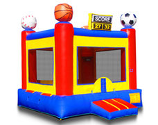 Sports Arena Bounce House 13x13